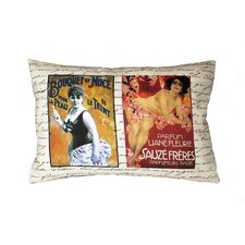 <strong>Uptown Artworks</strong> French Perfume Ads Pillow