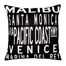 <strong>Uptown Artworks</strong> LA Coast Pillow