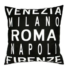 <strong>Uptown Artworks</strong> Roma Italy Pillow
