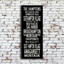 Hamptons Sign Art