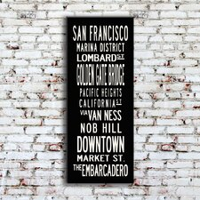 San Francisco Sign Art