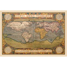 <strong>Buyenlarge</strong> World Map Canvas Art