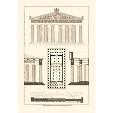 Parthenon at Athens Canvas Art