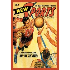 <strong>Buyenlarge</strong> Sports Magazine Basketball Canvas Art