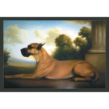 Recumbent Great Dane Canvas Art