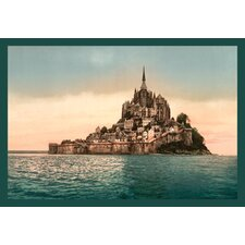 <strong>Buyenlarge</strong> Mont St. Michel at High Tide Canvas Art