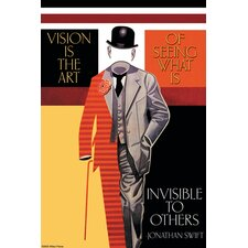 Vision is the Art Graphic Art on Canvas