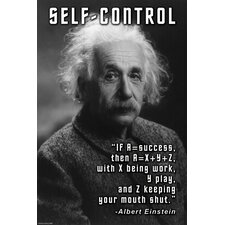 Self-Control by Wilbur Pierce Graphic Art on Canvas