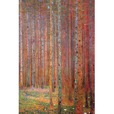 Tannenwald by Gustav Klimt Painting Print on Canvas