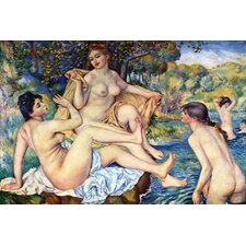 The Large Bathers by Pierre - August Renoir Painting Print on Canvas