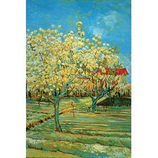Orchard with Cypress by Vincent Van Gogh Painting Print on Canvas