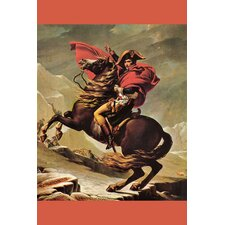 <strong>Buyenlarge</strong> Napoleon Crosses the Great St. Bernard Pass Canvas Art