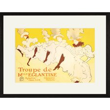 <strong>Buyenlarge</strong> Troupe De Mille Eglantine Framed and Matted Print