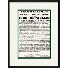 Irish Republic Framed and Matted Print