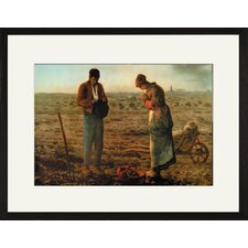 Angelus by Millet Framed Painting Print