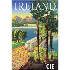 Ireland by CIE Vintage Advertisement on Canvas