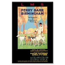 <strong>Buyenlarge</strong> Perry Barr, Birmingham - Greyhound Racing Canvas Wall Art