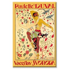 <strong>Buyenlarge</strong> Paulette Duval and Vaceslv Svoboda Dance Canvas Wall Art
