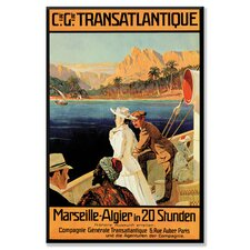 <strong>Buyenlarge</strong> Marseille - Algiers Cruise Line Canvas Wall Art