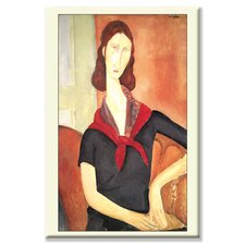 Jeanne by Amedeo Modigliani Painting Print on Canvas