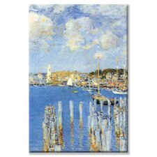 <strong>Buyenlarge</strong> Port of Gloucester Island Canvas Wall Art
