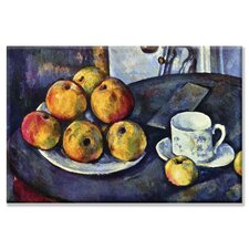 Still Life with Cup and Saucer by Paul Cezanne Painting Print on Canvas