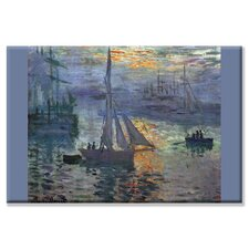 <strong>Buyenlarge</strong> Sunrise at Sea Canvas Wall Art