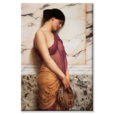 <strong>Buyenlarge</strong> Tambourine Girl Canvas Wall Art