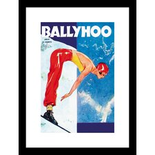 Ballyhoo Framed Vintage Advertisement