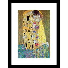 Kiss Framed Painting Print