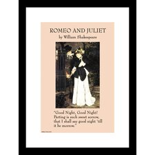 Romeo and Juliet Framed Graphic Art