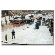 <strong>Buyenlarge</strong> Fifth Avenue in Winter Canvas Wall Art