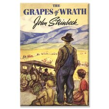 The Grapes of Wrath Canvas Wall Art
