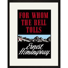 For Whom the Bell Tolls by Ernest Hemingway Canvas Wall Art