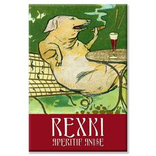 Rexxi Aperitif Anise Canvas Wall Art