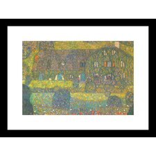 <strong>Buyenlarge</strong> House in Attersee Framed and Matted Print