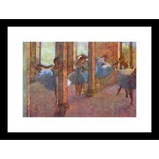 <strong>Buyenlarge</strong> Dancers in The Foyer Framed and Matted Print