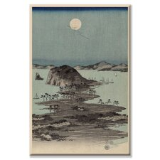 <strong>Buyenlarge</strong> Evening View of the Eight Famous Sites at Kanazawa #2 Canvas Wall Art