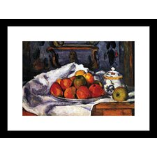 <strong>Buyenlarge</strong> Still Life Bowl of Apples Framed and Matted Print