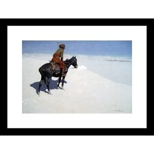 <strong>Buyenlarge</strong> The Scout, Friends or Foes Framed and Matted Print