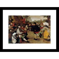 <strong>Buyenlarge</strong> Dance of the Peasants Framed and Matted Print