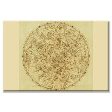 <strong>Buyenlarge</strong> Celestial Map of the Mythological Heavens with Zodiacal Characters Canvas Wall Art