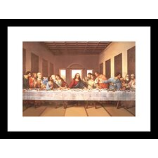 <strong>Buyenlarge</strong> The Last Supper Framed and Matted Print