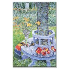 Mrs. Hassam's Garden Canvas Wall Art
