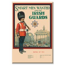 Irish Guards Vintage Advertisement on Canvas