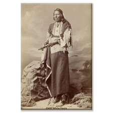 <strong>Buyenlarge</strong> Chief White Eagle Canvas Wall Art