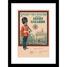 Irish Guards Framed Vintage Advertisement