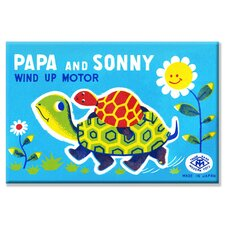 Papa and Sonny Canvas Wall Art