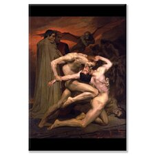 Dante and Virgil in Hell Painting Print on Canvas