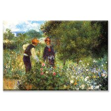 <strong>Buyenlarge</strong> Picking Flowers Canvas Wall Art